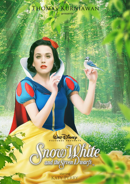 Artist Imagines Celebrities as Real-Life Disney Characters (9)