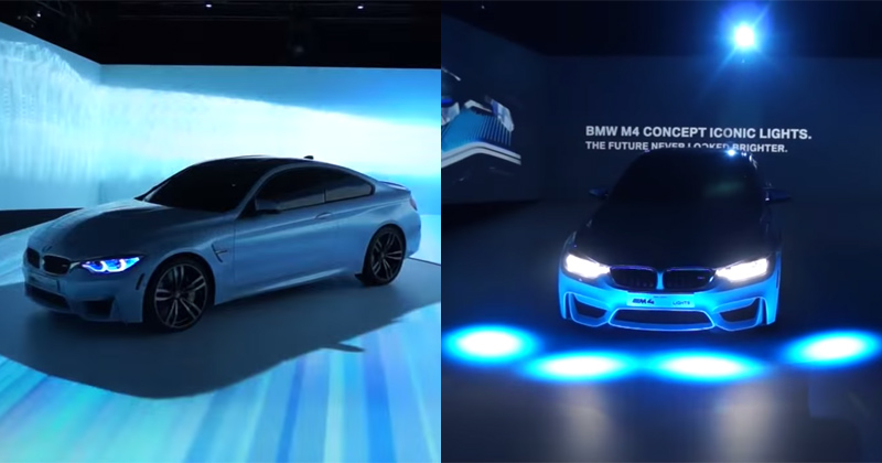 BMW Unveils Intelligent Lighting System at CES 2015