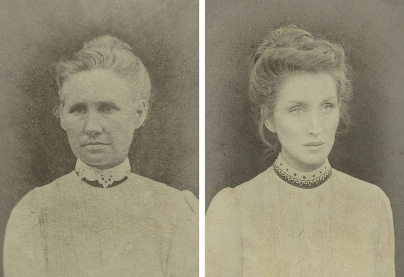 christine mcconnell Recreates Six Generations of Family Portraits Dating Back 200 Years (5)