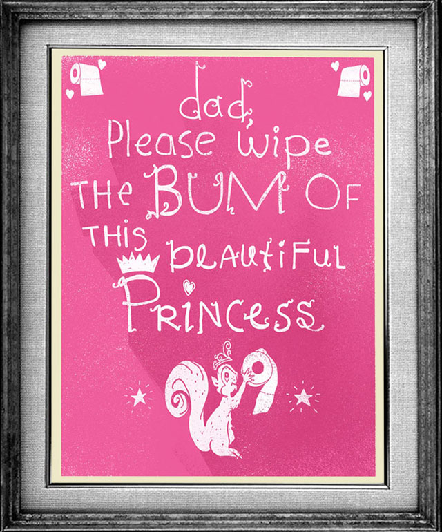 Creative Dad martin bruckner Illustrates the Funny Things His Daughter Says (31)