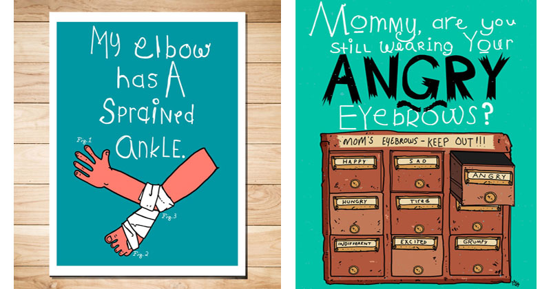 Creative Dad Illustrates All of the Funny Things His Daughter Says