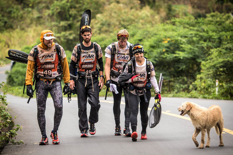 dog follows and joins swedish adventure race team 5 After Fukushima this Town was Abandoned but One Man Returned to Care for the Animals