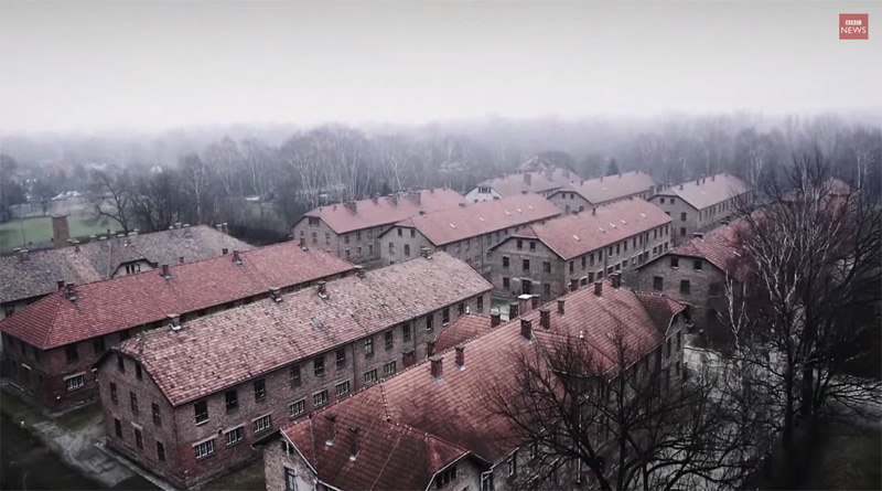 drone-footage-over-auschwitz-bbc