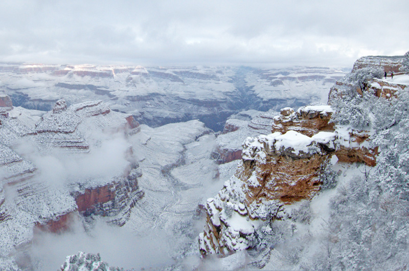 Picture of the Day: Snowstorm at the Grand Canyon