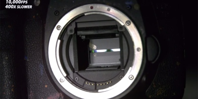 Seeing How a Camera Shutter Works at 10,000FPS
