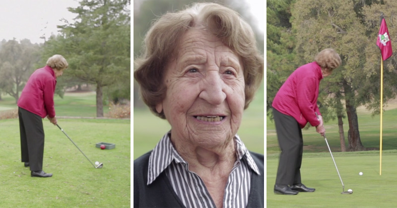 Meet Ida Pieracci, the 102-year-old Golfer with the Key to a Long, HappyLife