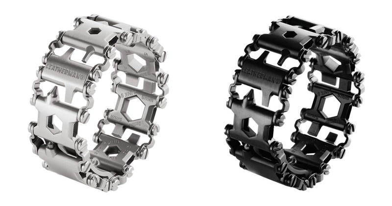 leatherman tread bracelet wearable with 25 tools 9 Student Designs Faucet that Saves and Swirls Water Into Amazing Patterns