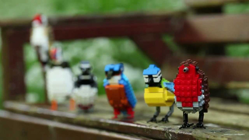 LEGO Birds by Tom Poulsom «TwistedSifter