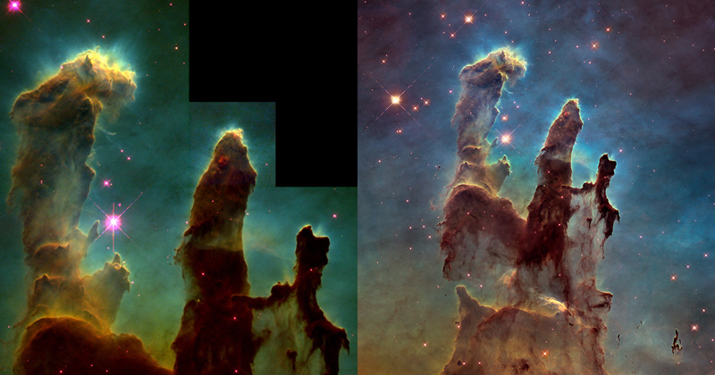 Picture of the Day: Pillars of Creation Redux