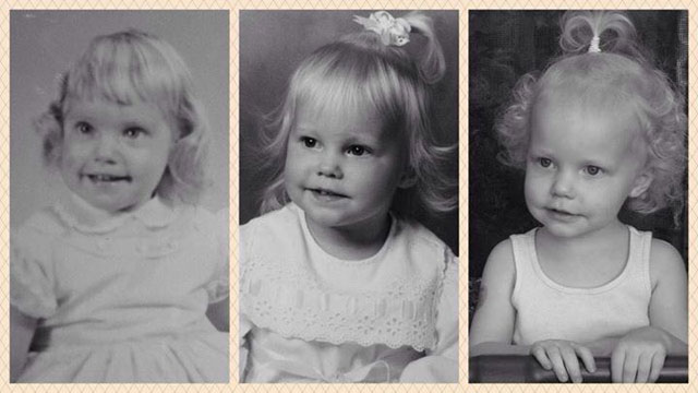 Side by Side Photos of Parents and their Kids at the Same Age (12)