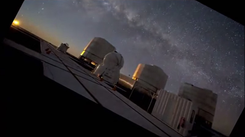 Night Sky Timelapse with Stars Fixed Shows We're Just a Rock Hurtling Through Space