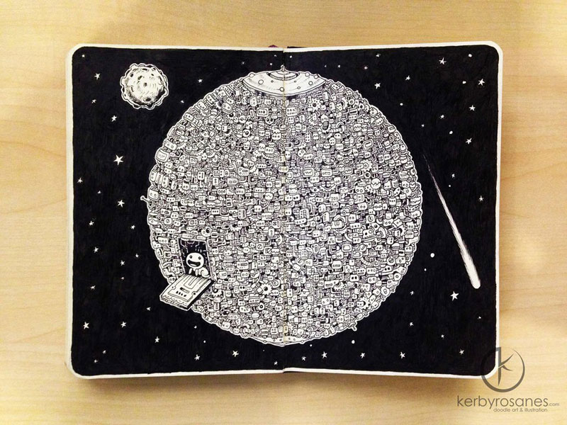 The Amazing Moleskine Sketchbook of Kerby Rosanes (13)
