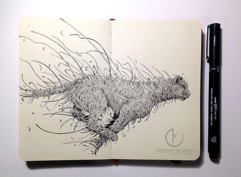 The Amazing Moleskine Sketchbook of Kerby Rosanes (14)