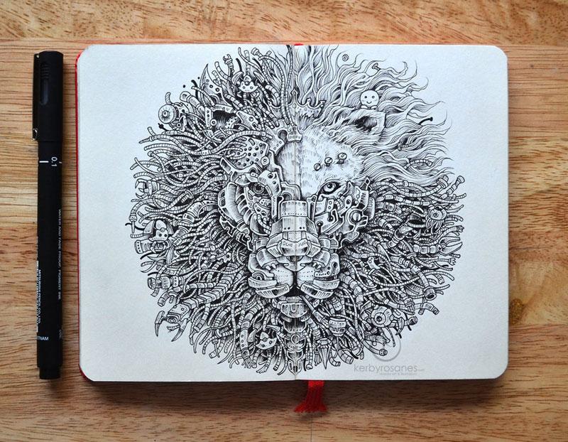 The Amazing Moleskine Sketchbook of Kerby Rosanes (15)