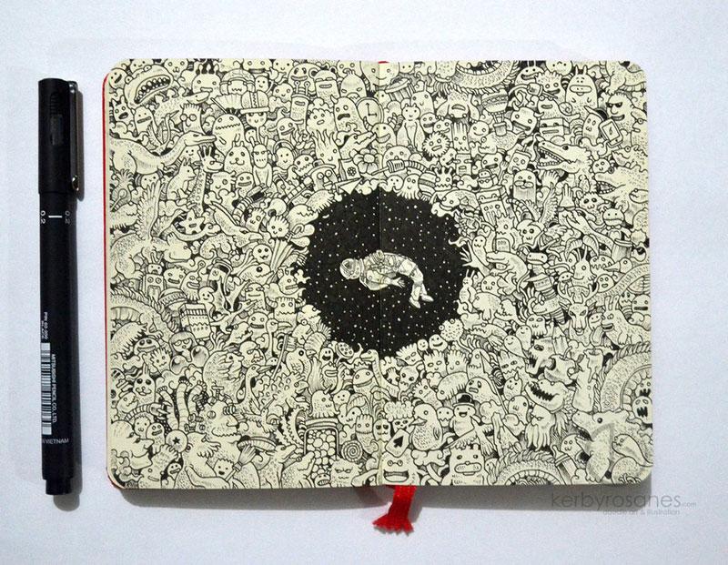 The Amazing Moleskine Sketchbook of Kerby Rosanes (3)