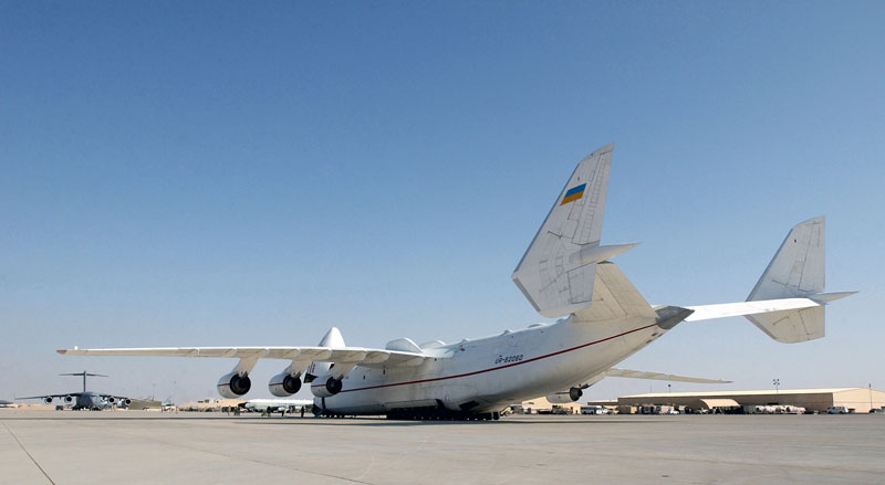 The Largest Airplane Ever Built antonov an-225 mriya (5)