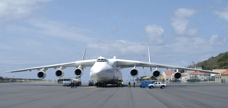 The Antonov world's largest plane set to land in Perth carrying ...