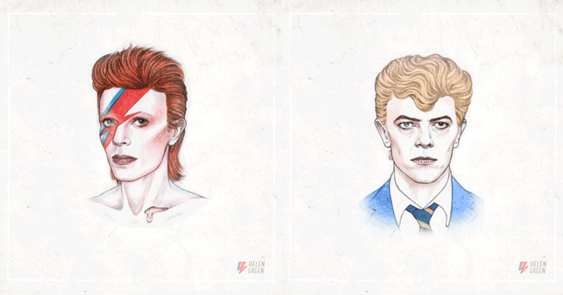 The Style Transformation of David Bowie in One Glorious Gif