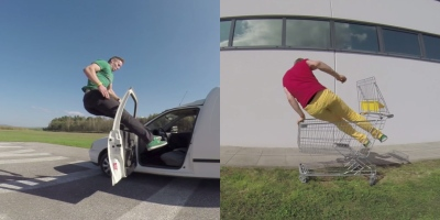 This 200-Pound Stuntman Can Jump ThroughAnything