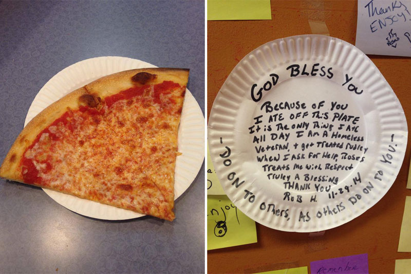Wall Street Banker Quits to Open $1 Pizza Joint, Customers Pay It Forward to Feed Homeless (15)