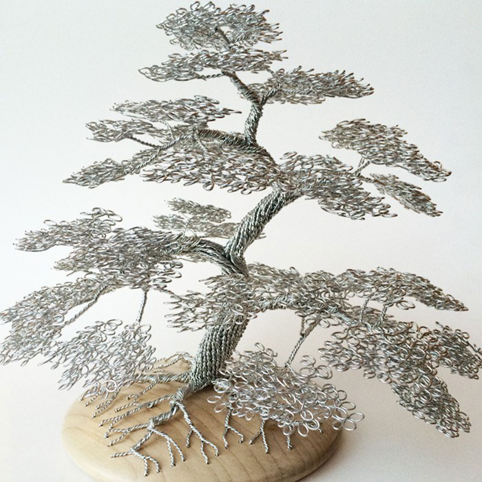 Wire Tree | Wire Tree Sculptures By Clive Maddison Twistedsifter