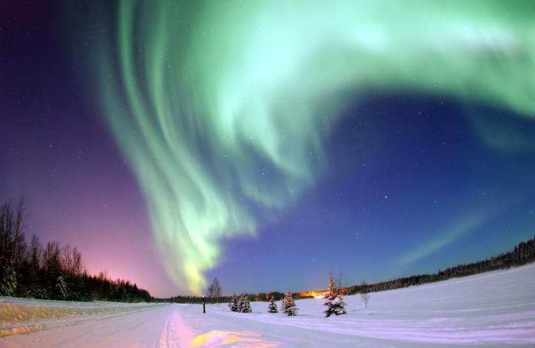 Aurora Borealis, Bear Lake, Alaska