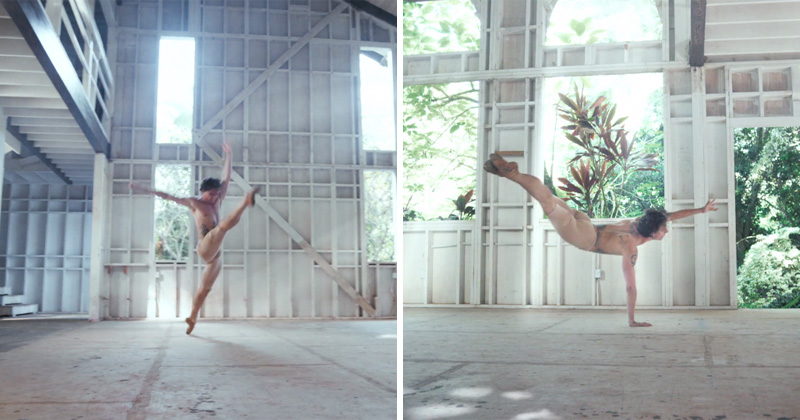 ballet performance to amen take me to church hozier Light Bending Dance Performance Will Touch Your Soul