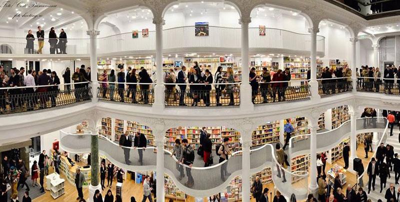 carturesti carusel book store bucharest romania (1)