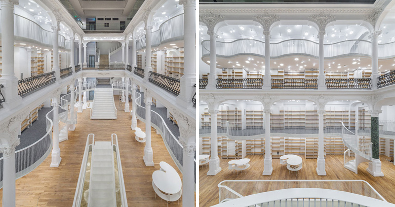 Bucharest Bookstore Opens in Beautifully Restored 19th CenturyBuilding