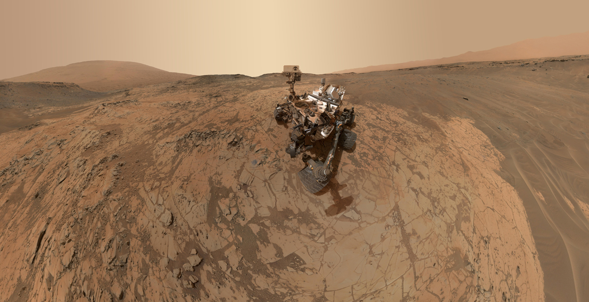 curiosity rover selfie 2015 nasa mars The Top 100 Pictures of the Day for 2015
