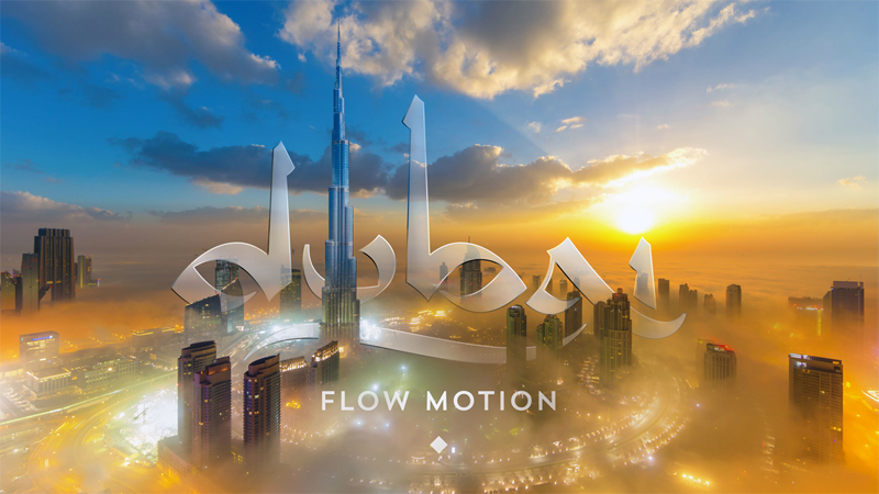 This 'Flow Motion' Tour of Dubai is Unreal