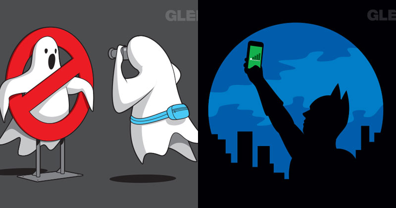 21 Funny Illustrations by Glenn Jones