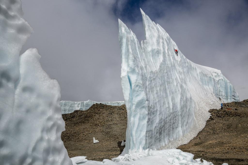 Ice Climbing the Glaciers at the Top ofKilimanjaro