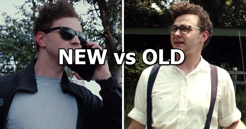Patton Oswalt Narrates Awesome Film on New vs Old and What's TrulyImportant