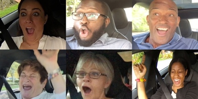 Passenger Reactions to Going from 0-60 in the World's Fastest 4 DoorSedan