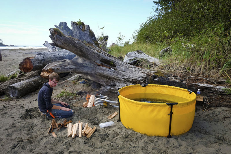 These guys built a portable hot tub you can take on your next adventure 171 twistedsifter