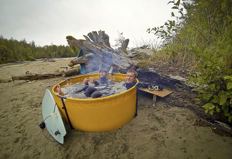 These Guys Built A Portable Hot Tub You Can Take On Your