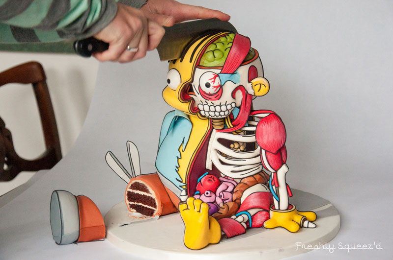This Ralph Wiggum Cake is Insane