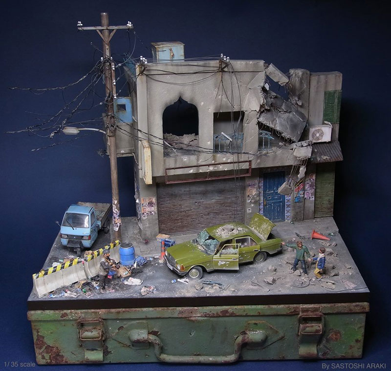 The Incredible Dioramas of Satoshi Araki «TwistedSifter