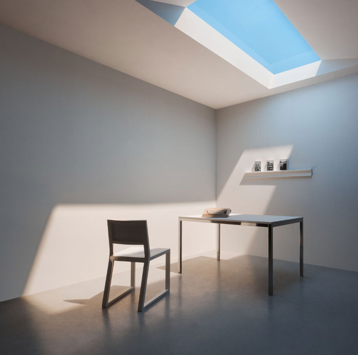develop artificial skylight that mimics natural light twistedsifter. Black Bedroom Furniture Sets. Home Design Ideas