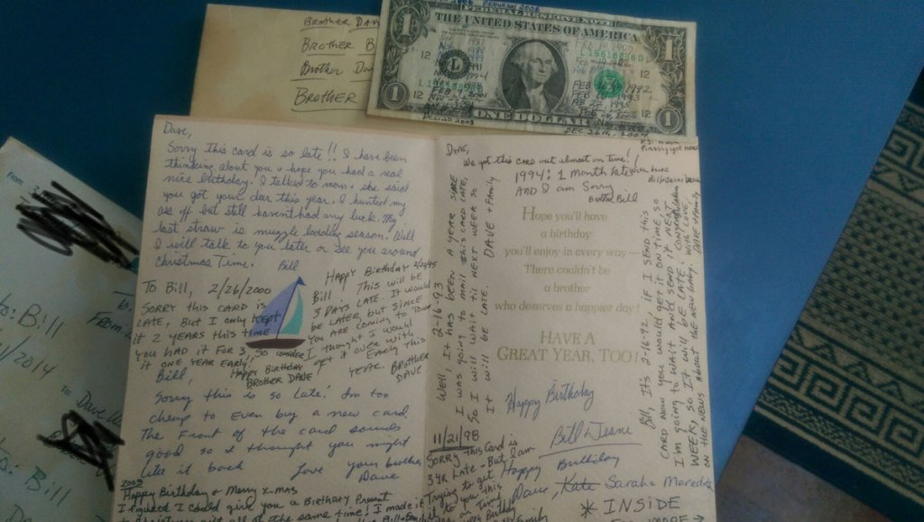 These Two Brothers Have Exchanged the Same Birthday Card Since1987