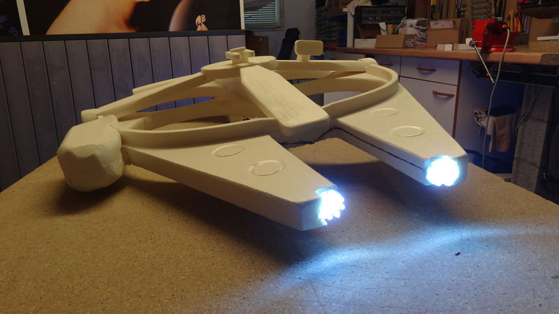 This Guy Built a Millennium Falcon Quadcopter and It's Awesome (17)