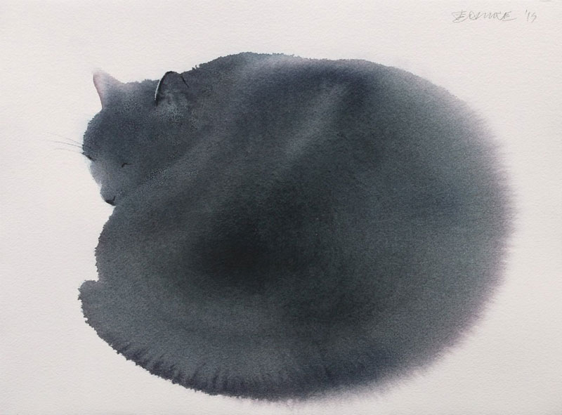 watercolor cats by endre penovac (12)