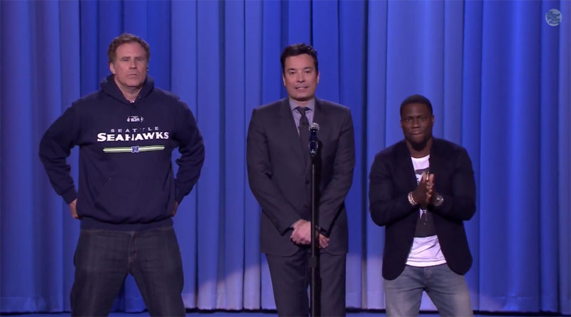 Will Ferrell, Kevin Hart and Jimmy Fallon Compete in Lip Sync Battle for theAges
