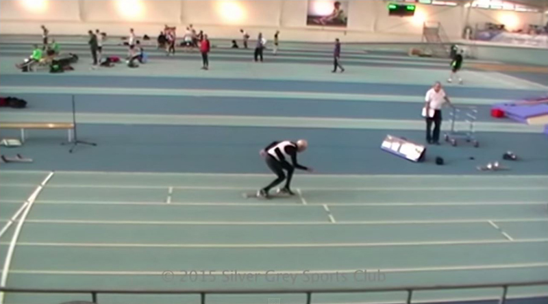 Charles Eugster Runs 200m in Under a Minute. Charles Eugster is95-Years-Old