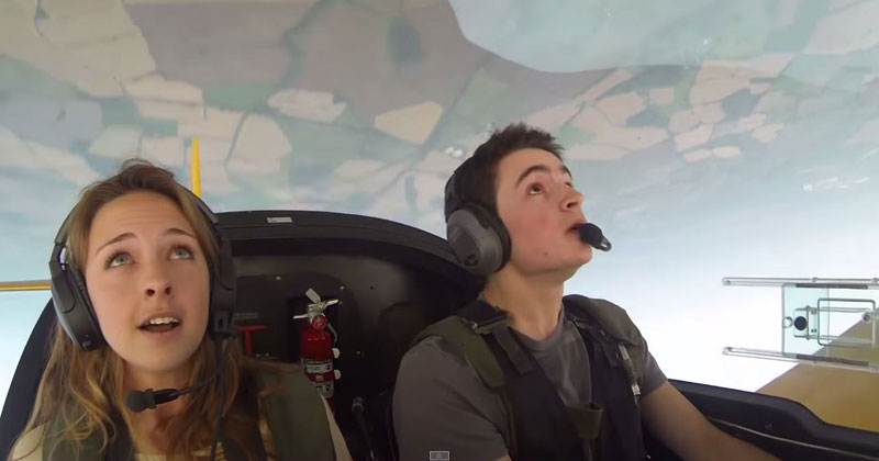 Aerobatics Pilot Takes His Friends for the Ride of a Lifetime