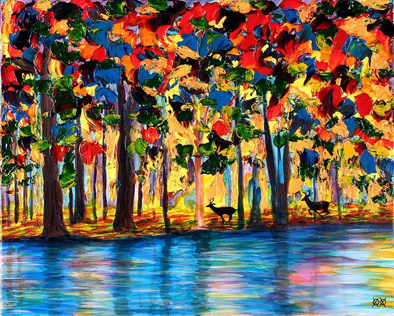 art by blind painter john bramblitt (2)