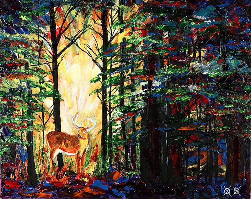 art by blind painter john bramblitt (9)