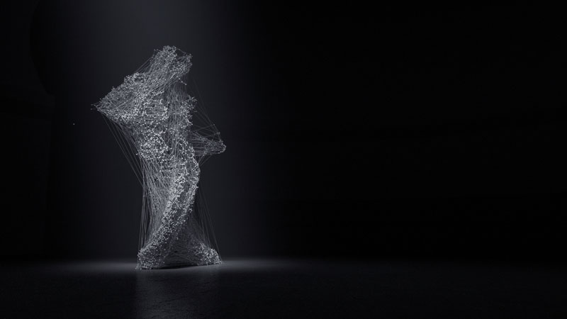 Artists Hack an Xbox Kinect and Create an Experimental Film on Movement