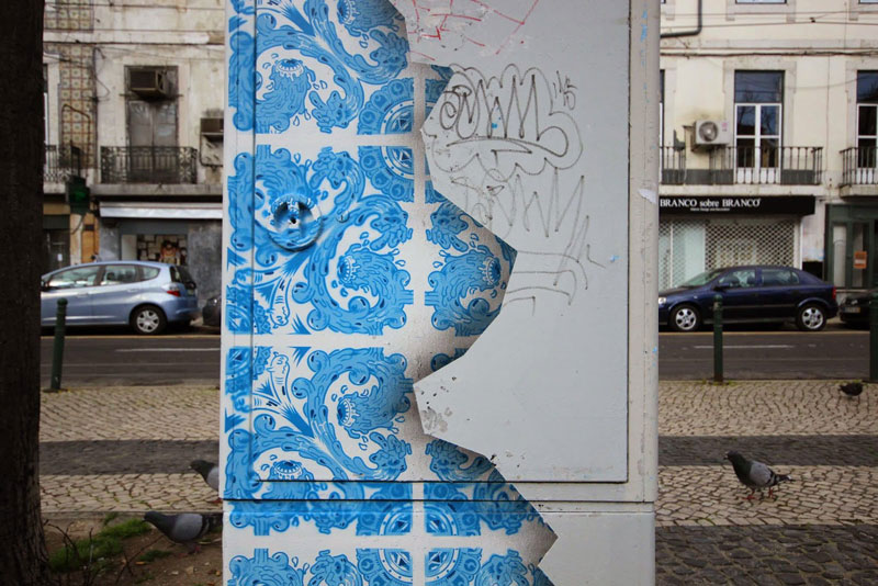 ceramic tile street art diogo machado add fuel lisbon (4)